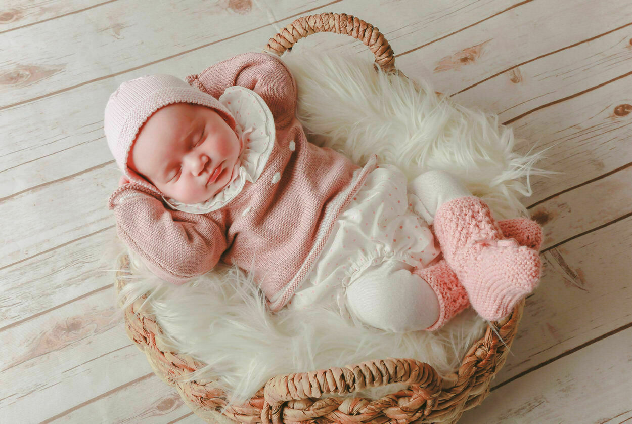 fotografo newborn en estudio pozuelo madrid
